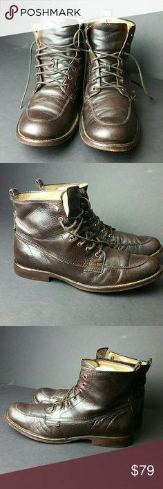 FRYE PHILLIPS MEN'S BOOT IN GOOD CONDITION   SKE # MC Frye Shoes Boots