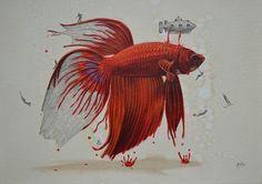 O ilustrador Ricardo Solis imaginou a criação dos animais e de seus padrões e cores de pele de uma forma lúdica e fantasiosa – e transformou tudo em ilustração. Ricardo Solis nasceu em Guadalajara, México. Desde jovem Ricardo se sentia atraído pela a arte e pela natureza. Agora, como um artista profissional, ele tenta expressar em (...)