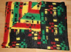 Vintage blanket with label Superior Dutch Blanket