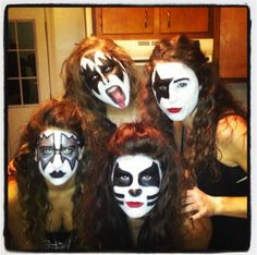 DIY KISS Halloween Costume Idea