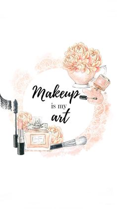 makeup wallpaper 70 Ideas fashion ilustration art drawing paintings for 2019 Makeup Artist Tattoo, Makeup Artist Quotes, Makeup Artist Kit, Makeup Quotes, Makeup Drawing, Makeup Wallpapers, Cute Wallpapers, Organizer Makeup, Makeup Illustration