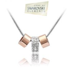 Collier pendentif Swarovski Elements