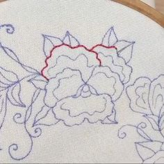 Embroidery is so beautiful to watch Hand Embroidery Patterns Free, Etsy Embroidery, Basic Embroidery Stitches, Hand Embroidery Videos, Embroidery Stitches Tutorial, Flower Embroidery Designs, Creative Embroidery, Embroidery Techniques, Cross Stitch Embroidery