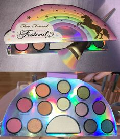 Too Faced Is Launching an Entire Collection of Unicorn Makeup Products Too Faced bringt eine ganze Kollektion von Einhorn-Make-up-Produkten . Highlighter Makeup, Skin Makeup, Concealer, Highlighters, Makeup Brands, Best Makeup Products, Beauty Products, Lush Products, Professional Makeup Kit