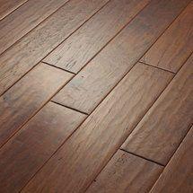 Walmart: Shaw Floors Kingwood 5'' Engineered Hickory Flooring in Thistle