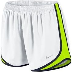 Nike Tempo Shorts - Women's at Lady Foot Locker from Lady Foot Locker. Shop more products from Lady Foot Locker on Wanelo. Nike Tempo Shorts, Sport Shorts, Nike Running Shorts, White Nike Shorts, Elite Shorts, Women's Shorts, Long Shorts, White Nikes, Jean Shorts