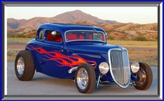 Street Rod Flames | CCM Rod Shop has been machining custom designed street rod and classic ...