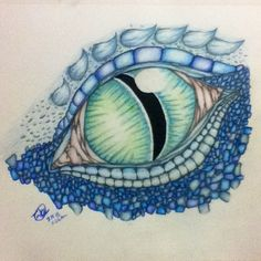 Color Pencil Drawing Dragon Drawings in Color Dragon Eye Color Drawing by - Dragon Eye Drawing, Easy Dragon Drawings, Easy Pencil Drawings, Realistic Eye Drawing, Dragon Sketch, Animal Drawings, Simple Dragon Drawing, Realistic Dragon, Drawing Hair