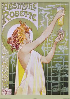 Love these Art Nouveau Movement Posters from France
