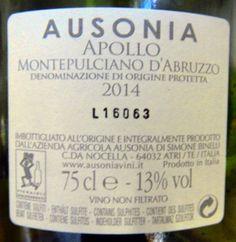 Ausonia Apollo Montepulciano d'Abruzzo 2014