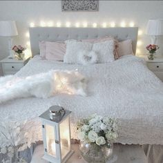296 Best Bedroom Fairy Lights Images On Pinterest Mint