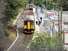 The Falmouth Branch Line is a single track line. Trains pass via this loop at Penryn Station, but both directions are served by the same platform. Truro Cornwall, Cornwall England, Falmouth, Seaside Towns, Street Photo, Places Ive Been, Britain, United Kingdom, Ireland
