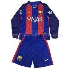 FC Barcelona Heim trikot Langärmlig 2017 Kinder €20,90