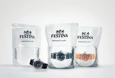 engineered for water | Festina packaging design