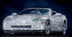 Swarovski Crystal   ... Mint 2008 Corvette 5,300 Swarovski Crystals - LE of 500 diecast car