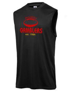 8b1c25864 Houston Gamblers Football Russell Athletic Men s Core Performance  Sleeveless T-Shirt