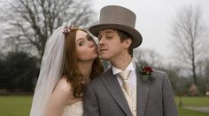 Amy Pond and Rory Williams (Karen Gillan, Arthur Darvill) from Doctor Who