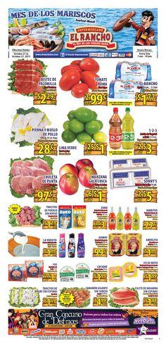 El Rancho Weekly Ad October 21 - 27, 2015 - http://www.olcatalog.com/grocery/el-rancho-weekly-ad.html