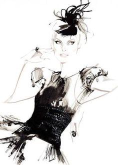Illustration by David Downton