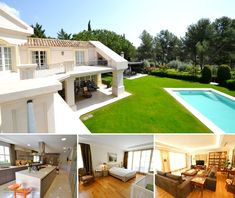 Fantastic 6 bedroom villa for sale in Sierra Blanca Located in Altos Reales, one of the most luxurious and listed complexes of the Golden Mile is this majestic villa. Divided into 3 floors… Luxury Property For Sale, Floors, Villa, Mansions, Bedroom, House Styles, Home Decor, Home Tiles, Decoration Home