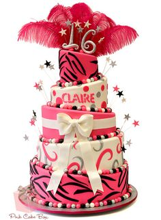 Claire's Sweet Sixteen Cake from Pink Cake Box