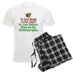 Christmas Lights Pajamas on CafePress.com
