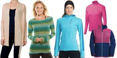 5 High-Performance Fall Fitness Layers : Fitness gear that's warm, moisture-wicking and stylish to boot.  #SelfMagazine