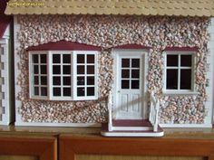 Foro de casas de muñecas y miniaturas :: Stone façade technique for house