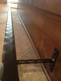 this week we installed this custom bar foot rail in this beautiful home on detroit lake