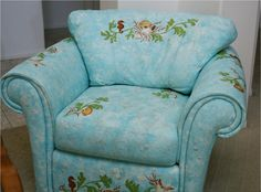 Image detail for -Hand Painted Leather Furniture