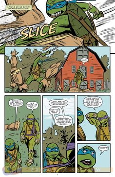 Preview: The X-Files: Conspiracy: TMNT #1, Page 4 of 8 - Comic Book Resources