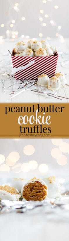 Peanut Butter Cookie Truffles - JenniferMeyering.com