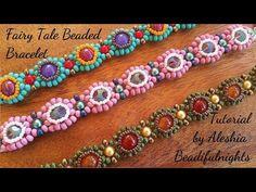 Fairy Tale Beaded Bracelet Tutorial - YouTube