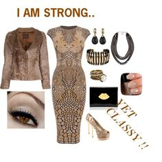 """Beige Beauty"" by tianacos on Polyvore"