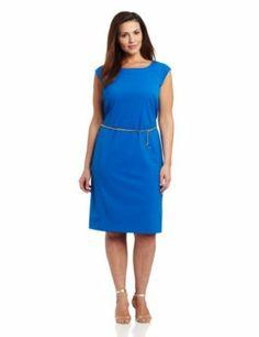 Jones New York Womens Plus-Size Classic Dress,