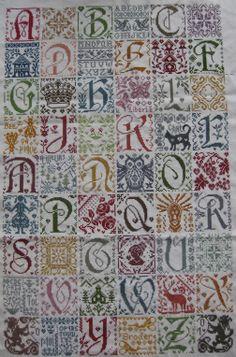 Grand Marquoir van  ISABELLE HACCOURT VAUTIER.  http://www.creationsisahv.com/