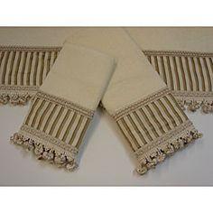 Sherry Kline Morningside Decorative 3 Piece Towel Set