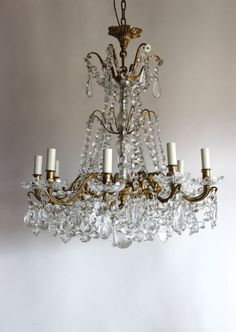 Sparkle with this beautiful chandelier from DC member Norfolk Decorative Antiques