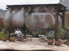 outdoor misters cooling systems | Mist Cooling : Mist Specialties, Misting Systems & Mist Cooling Fans