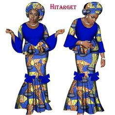 www.Petalsfashionz.com Quick shipping low prices women's Traditional Attire African Dresses for Women 2 Pieces Skirt Set African Wax Print Traditional Clothing Dashiki Crop Top and Skirt Sets Gender: Women Model Number: WY2461 Sleeve Style: Flare Sleeve Style: Vintage Material: Cotton Dresses Length: Floor-Length Pattern Type: Print Brand Name: HITARGET Item Type: Africa Clothing Special Use: Traditional Clothing Type: african dresses for women Size: Plus size african clothing,6XL bazin…