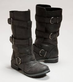 Had my eye on these for a while ... They look versatile. I do like how I feel in stompy boots and a dress.