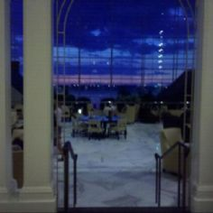 Sunset over the Potomac. Gaylord National Hotel & Convention Center, Friday Harbor, MD.