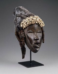 Ivory Coast/Liberia - Dan Deangle Mask (Museum of Fine Arts, Boston)