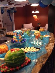 Bubble Guppies Birthday Party Ideas | Photo 24 of 25 | Catch My Party