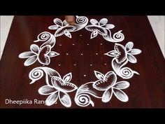Simple Daily Kolams with 9 dots Simple Rangoli Border Designs, Rangoli Designs Latest, Rangoli Designs Flower, Free Hand Rangoli Design, Small Rangoli Design, Rangoli Patterns, Rangoli Ideas, Rangoli Designs Diwali, Rangoli Designs With Dots