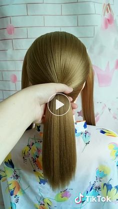 Yezi has just created an awesome short video with original sound - yezi_fashion Yezi( has created a short video on TikTok with music「原聲」. hair head of middle-long hair❤ Girl Hairstyles, Braided Hairstyles, Wedding Hairstyles, Grunge Hair, Hair Today, Braid Styles, Hair Dos, Hair Designs, Blue Hair