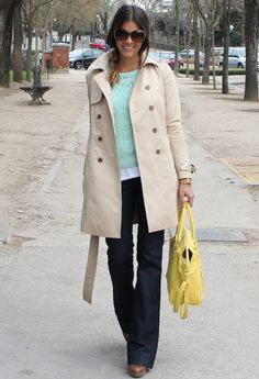 love the light blue green sweater and jacket