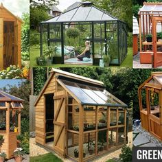 Get clever - use a Greenhouse DIY Kit to build your own She Shed and get yourself a beautiful garden room and a gateway place under the sky. Shed Building Plans, Diy Shed Plans, Storage Shed Plans, Building Ideas, Roof Storage, Porch Plans, Diy Storage, Diy Shed Kits, Diy Kits
