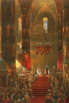 Homage of the Cossacks at the Coronation of Alexander II