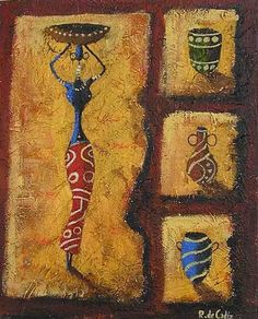 African Art gallery for African Culture artwork, abstract art, contemporary art daily, fine art, paintings for sale and modern art Worli Painting, Africa Painting, Africa Art, Texture Painting, Arte Tribal, Tribal Art, Deco Zen, Contemporary Art Daily, African Artists